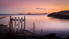 Homborsund - golden hour (Karl P. Laulo) Tags: longexposure lighthouse norway norge fyr homborsund