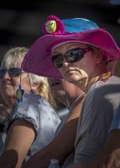 Rodeo Fan (_bobmcclure_) Tags: hat fan funny audience rodeo