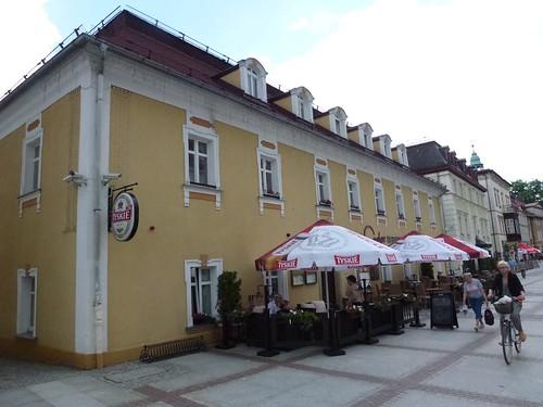 Hotel Caspar (1802, pl. Piastowski 28) w Cieplicach Śląskich-Zdrój