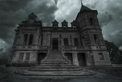 Quinta do M (solapi) Tags: abandoned beautiful castelo castle creepy cloudy dekay derelict chateau horror hdr oncewashome portugal oriolribera sunset spooky solapi urbex oriol ribera sigma dystopianworld