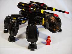 BT-4 (Walking Fortress) (Peter deYeule) Tags: classic lego space vehicle mecha mech blacktron