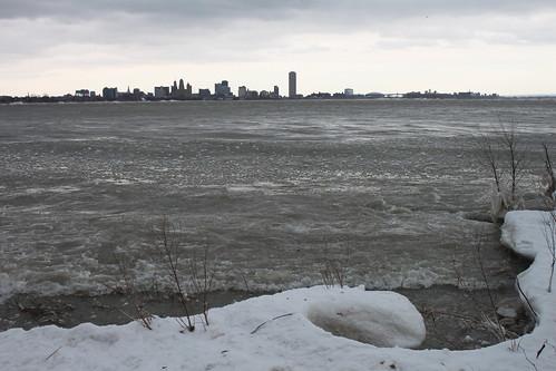 Buffalo from Ft. Erie, Ontario