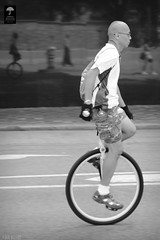 """""""One-Wheeled Rider"""" in Central, Hong Kong (Ben Molloy Photography) Tags: road street people wheel person photography one nikon ben central hong kong cycle unicycle gloucester lives uni molloy humans benmolloy benmolloyphotography benmolloyhongkong"""