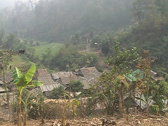 Paduang Village in Northern Thailand