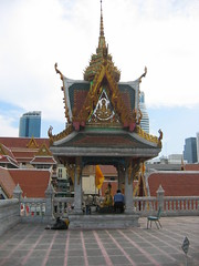 Pavilion in Wat Saket