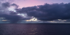 A morning at sea (Per-Karlsson) Tags: ocean morning sea rain clouds dawn pinksky atsea norwegiansea canonef24105mmf40lisusm canoneos6d