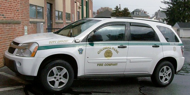 park fire chief colonial 2006 chevy asst equinox firecompany dfirecop dutyofficer