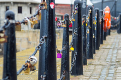 Lock Chains, Liverpool (karf101) Tags: uk england color colour colors liverpool docks coast seaside dock colours lock chain merseyside untiedkingdom