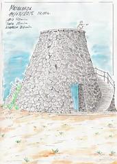 MATAGORDA (lugolanz) Tags: lanzarote canarias watercolour acuarela dibujo matagorda