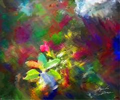 Flores de Parque Elisa (Diez Visualcreativo) Tags: chile santiago flores digital photoshop la foto arte florida flor alejandro elisa pintura correa retoque diez creativo fotopintura photoshopcreativo visualcreativo