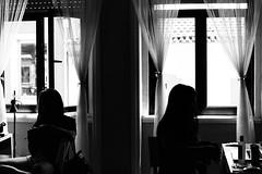 Roommates (Gabriela Mendes ) Tags: blackandwhite portrait retrato black white pretoebranco personal room porto portugal identidade life vida cotidiano roommates friendship