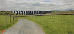 Ribblehead Viaduct (Fred255 Photography) Tags: fred255photography2016 canon canoneos1dsmarkiii ef1635mmf4lisusm ribblehead viaduct battymoss settlecarlislerailway riverribble northyorkshire midlandrailway skipton kendal gradeii johnsydneycrossley 12october1870 1874 navvies shantytowns families crimeanwar smallpoxepidemics deaths industrialaccidents goodstraffic 1875 3august1875 1may1876 colonelfhrich inspectingofficer boardoftrade painted digitalpainting topazimpression2 outside england uk