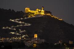 Castell (:) vicky) Tags: light luz night noche flickr olympus nocturna castell visionario vickyepla flickrvicky
