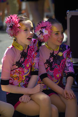 Young Acrobats (swong95765) Tags: girls flower beautiful costume young makeup acrobats facepaint performers talented skilled