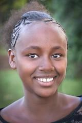 Wolayta Girl (Rod Waddington) Tags: africa african afrika afrique ethiopia ethiopian ethnic etiopia ethnicity ethiopie etiopian thiopien wollaita wolayta tribe tribal traditional portrait girl female face braids smile people