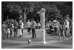 We're not Going to Pose with Him.... (GAPHIKER) Tags: washingtonsquarepark park newyorkcity nyc manhattan statue man street art pose performer gollum