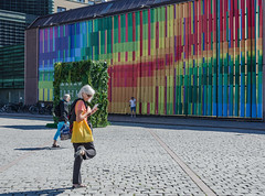 Central station (AstridWestvang) Tags: architecture art building oslo people street