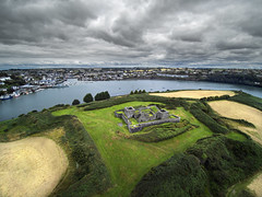 James Fort (Vytenis Malisauskas) Tags: ireland drone cork fort ruins kinsale historical cgo3 yuneec sky landscape ngc