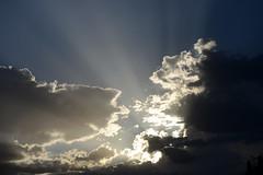 Crepuscular Rays (Stan Celestian) Tags: crepuscularrays crepuscular sunbeams cumulus clouds