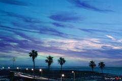 Atlanticpalm (io.robin) Tags: oceanoatlantico oceano atlantico mare tramonto palme spiaggia moroco magreb marocco cielo sky nuvole azzurro indaco africa