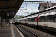 SBB FFS CFF Gare de Nyon (limaramada) Tags: gare ffs nyon nstcm sbbcff