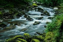 Walk Lynton to Watersmeet E7120263_19 (tony.rummery) Tags: longexposure england water rock river rocks stream unitedkingdom somerset olympus gb omd watersmeet lynton em10 mft microfourthirds northdevondistrict