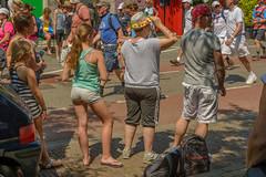 flower power (stevefge) Tags: people nijmegen nederland netherlands candid girls vierdaagse zomer summer watchers nederlandvandaag reflectyourworld