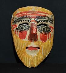 Totonac Mask Veracruz Mexico (Teyacapan) Tags: carnival folkart faces crafts mexican masks mascara veracruz totonac