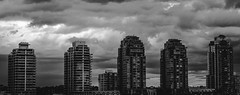 Five [177] (yegor454) Tags: five black white architecture buildings urban vancouver bc british columbia canada sigma 35mm art lense perfect perspective landscape awersome experience exposure explore expression emotion 365 energy minimal