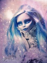 Phylosophy (NylonBleu) Tags: blue monster high doll bleu mh ghoulia nylonbleu