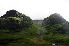 Glencoe (rosieblackadder) Tags: glencoe scotland scottish highlands uk britain highland mountain landscape scenery nature green rock stream river