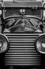 Rolls Royce Classic (MartinHots) Tags: classic car vehicle vintage grill rolls royce badge emblem expensive blackandwhite monochrome