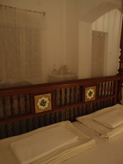 Secret Garden (Carrascal Girl) Tags: secretgarden hotel boutiquehotel kochi fortkochi india accommodation lodging bed bedroom fourposter furniture