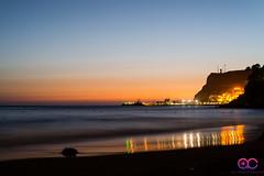 Gran Canaria Sunset (AC Photography 828) Tags: nikon d610 nikond610 beach sea seaside sunset dusk reflection water grancanaria sun manfrotto befreeone 50mm nikon50mmf18d