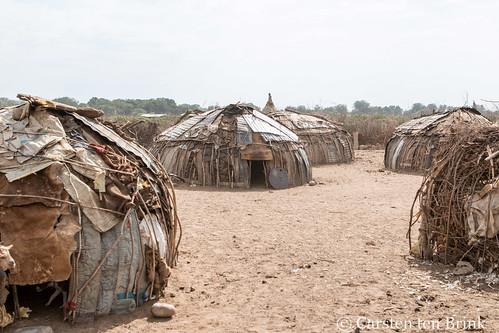 Daasanech huts