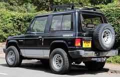 F324 UJN (Nivek.Old.Gold) Tags: 1989 mitsubishi pajero swb intercooler turbo wagon 2470cc mmc