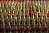 One Red Bottle (VenturaMermaid) Tags: carnival coke cokebottles game atthefair magichour filltheframe lighting venturacountyfair fair