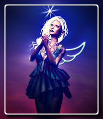 Wishing Star (Rosemaery Lorefield [Shabby Tabby]) Tags: qe whowhat ama andika attitudeisanartform auricastore catwa entwined epoch luas meshbodyaddictsfair secondlife sl slink totallytopshelf vilecult