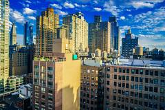 Manhattan in the summer (Arutemu) Tags: nyc ny newyork newyorkcity nuevayork manhattan urban usa us unitedstates america american a7r sonya7r ilce ilcea7r mirrorless sigma 24mm city cityscape ciudad view metropolis manualfocus midtown midtownmanhattan chelsea