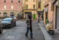 Streetfoto Brescia, Italy (onkobrain) Tags: chiogga christo mantua