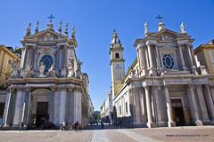 Turin-Piazza San Carlo (doveoggi) Tags: 9098 city italy piedmont turin piazzasancarlo piazza