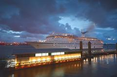 Magellan in Liverpool (Jeffpmcdonald) Tags: msmagellan cruise maritime cruiseandmaritimevoyages cruiseship liverpool liverpoolcruiselinerterminal rivermersey nikond7000 jeffpmcdonald aug2016