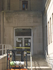 Side Entrance To The Mercer County Courthouse, April 16,2016 (rustyrust1996) Tags: mercercounty trenton newjersey courthouse entrance