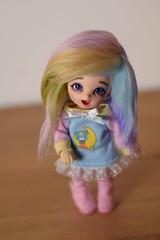 Let me introduce again Peach Blossom  (Sendell_Caramdir) Tags: bjd legit doll fairyland pukifee pongpong customcritterdesigns safrindoll cyristine