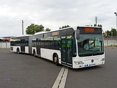Mercedes Citaro G II - Le Met' (K3F 124032 / Striebig 207) (Pi Eye) Tags: bus autobus articul gelnk mercedes o530 citaro citarog facelift e4 metz tcrm tamm mettis lemet
