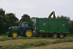 John Deere 8600 SPFH filling a Smyth FieldMaster Trailer drawn by a John Deere 6175R Tractor (Shane Casey CK25) Tags: john deere 8600 spfh filling smyth fieldmaster trailer drawn 6175r tractor jd green field master self propelled forage harvester silage pit clamp mitchelstown silage16 silage2016 grass grass16 grass2016 winter feed fodder county cork ireland irish farm farmer farming agri agriculture contractor ground soil earth cows cattle work working horse power horsepower hp pull pulling cut cutting crop lifting machine machinery nikon d7100 tracteur traktori traktor trekker trator cignik crops collecting collect
