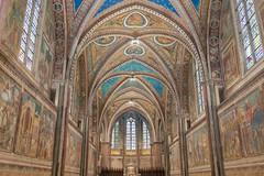 Giotto's frescos (Giuseppe Santangeli) Tags: assisi francis