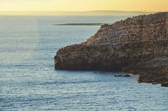 Cliff (Francesco Alemanno) Tags: sea seaside water love light sunset sun ray