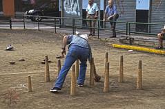 Bolera Nocedo. Leon (A.GibajaPhotography) Tags: bolera bolo bolos bowling outdoor park old classic photo photoshoot people