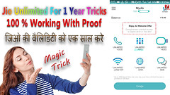 Jio For Magic Trick (Zed Tech Hindi Information) Tags: 1 year jio unlimited data any 4g mobile with proof live video by zedtech hindi